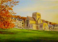 Ampleforth in October